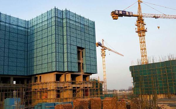 建筑爬架网案例