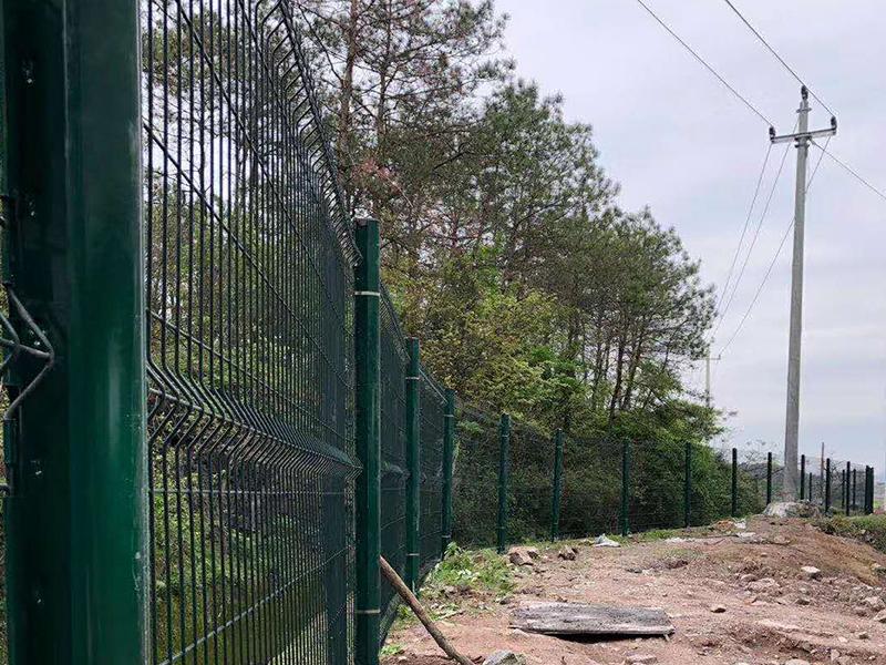 江苏护栏网施工案例